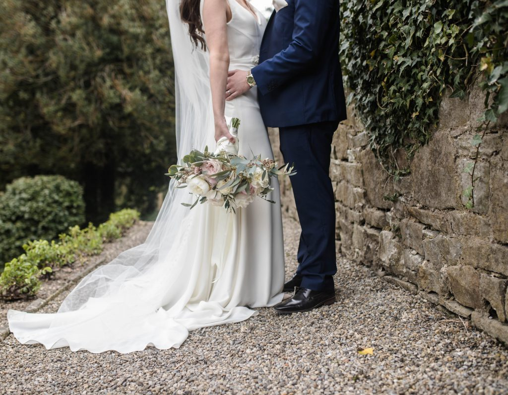 the bride flower bouquet, wedding photography in Lancashire.