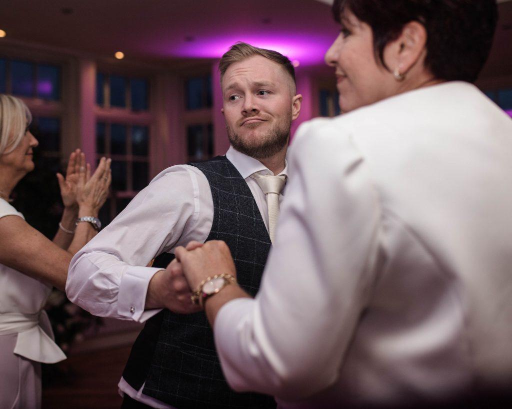 Daning groom, mutton hall wedding