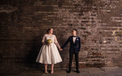 Summer wedding at The University of Manchester