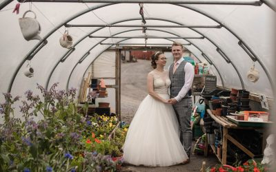 Rustic wedding at The wellbeing Farm in Lancashire