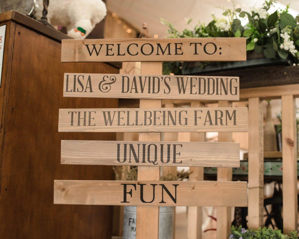 Wedding single at the wellbeing farm, lancashire wedding venues.