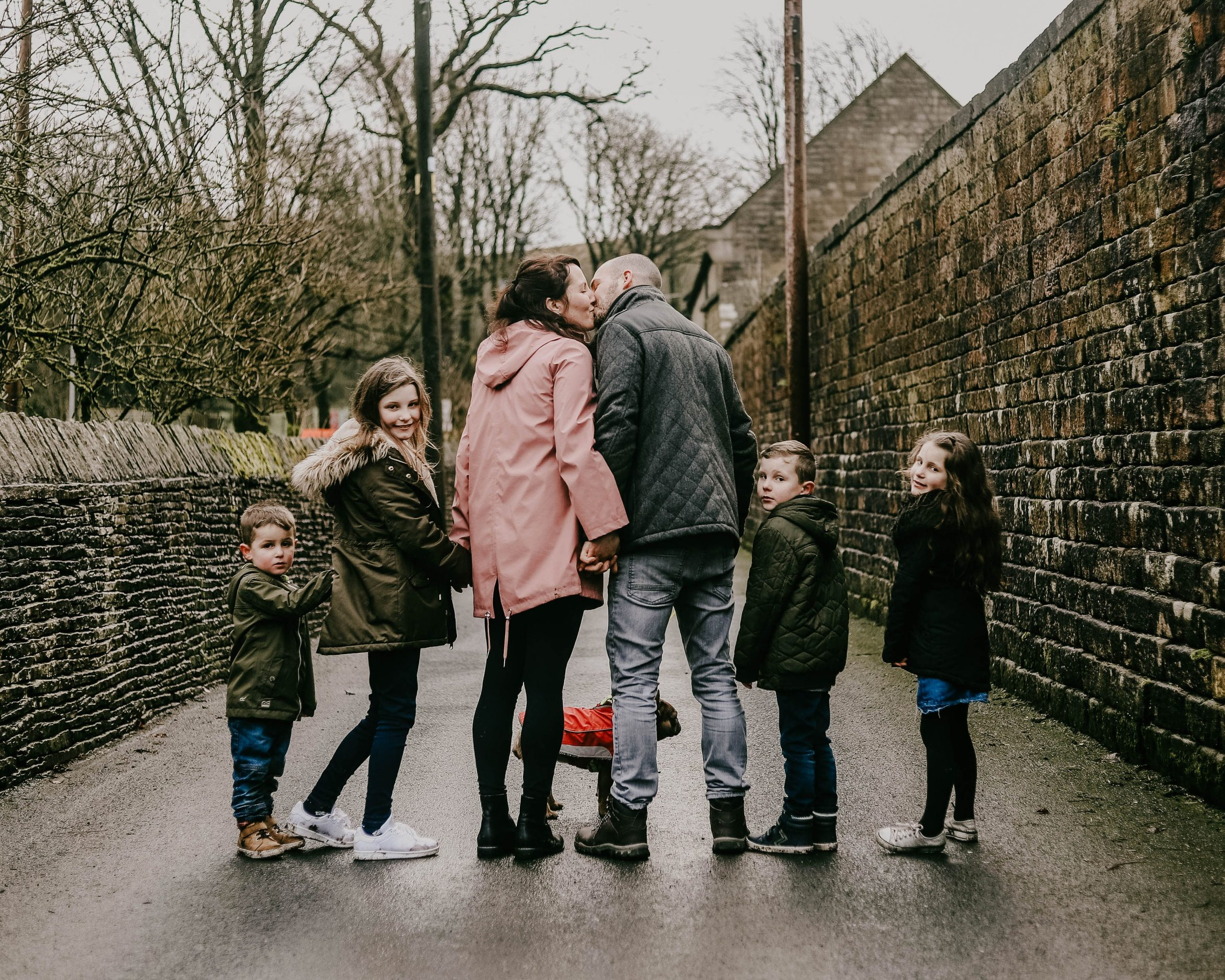 family photograph in lancashire, Bacup