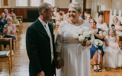 Kirsten and Stephen intimate wedding in Rossendale