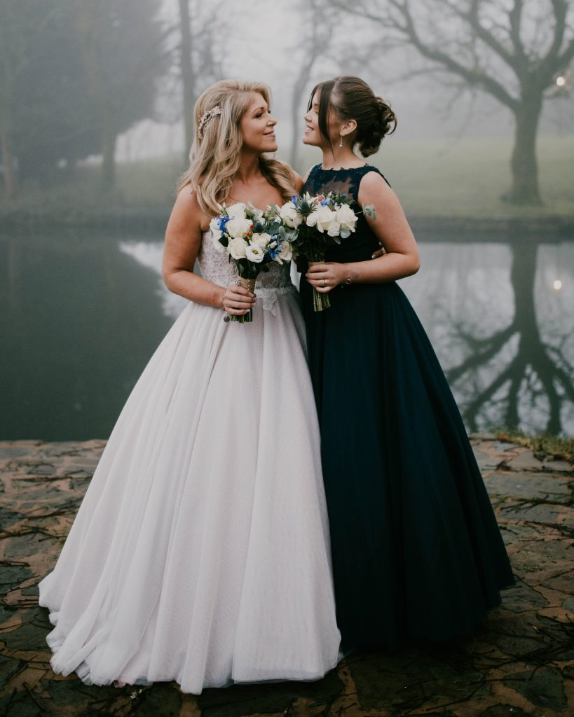 mother and daughter, lancashire wedding photography