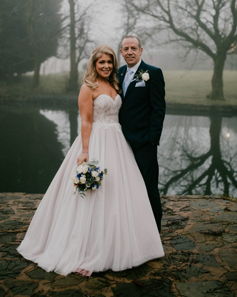 Bolholt country park hotel , the bride and groom