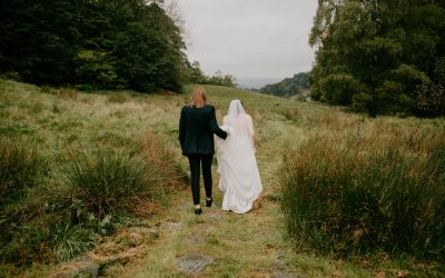 Paige and Charlotte Lake District wedding